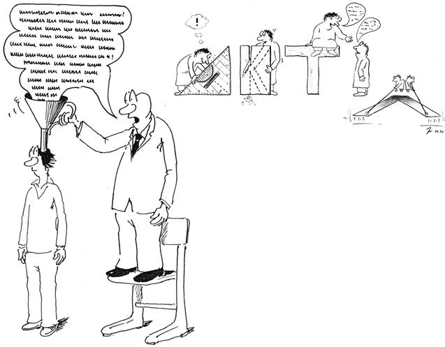 Cartoon: Erik Liebermann (li.); Jürgen Irschina (re.)